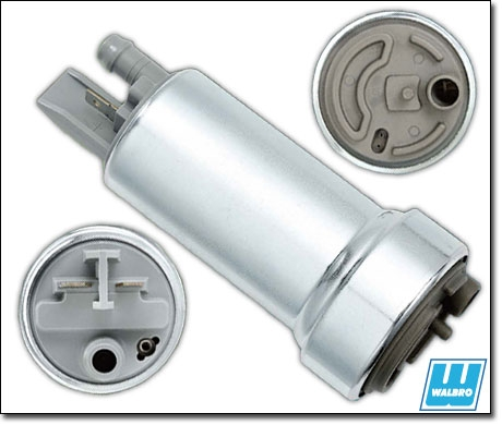 Walbro F90000267 Fuel Pump Inlet Outlet