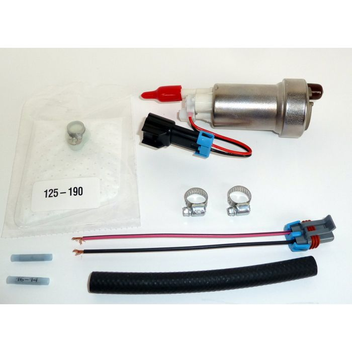450LPH High Performance Fuel Pump /& Install Kit WALBRO# F90000267E85 TIA485-2